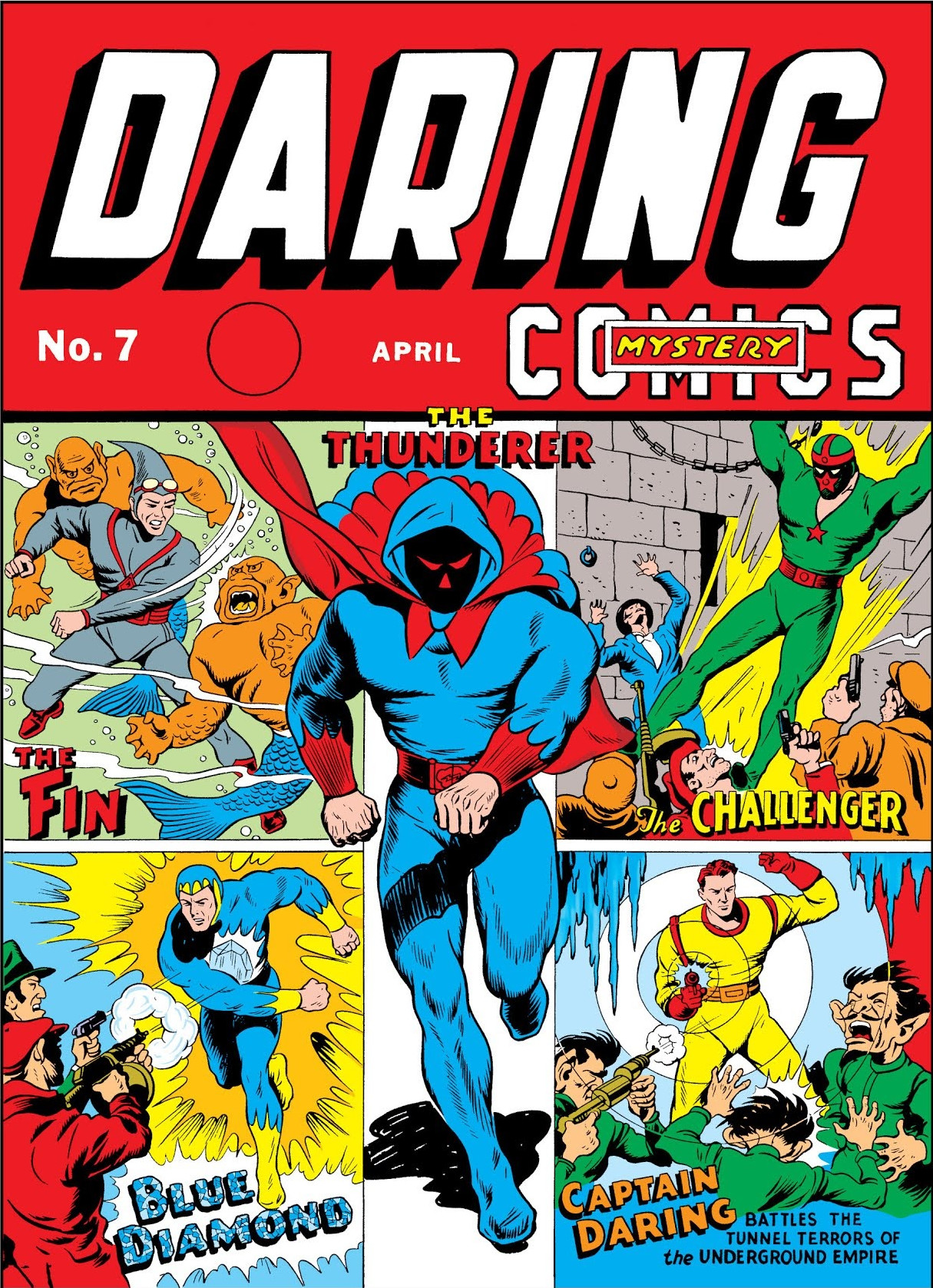 Image result for daring mystery comics #7