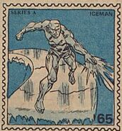 Iceman Marvel Value Stamp