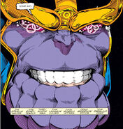 Thanos (Earth-616) from Warlock and the Infinity Watch Vol 1 7 0001