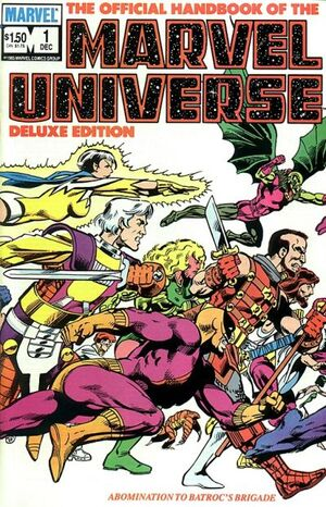 Official Handbook of the Marvel Universe Vol 2 1