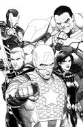 Avengers Vol 5 1 McNiven Sketch Variant Textless