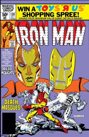 Iron Man Vol 1 139