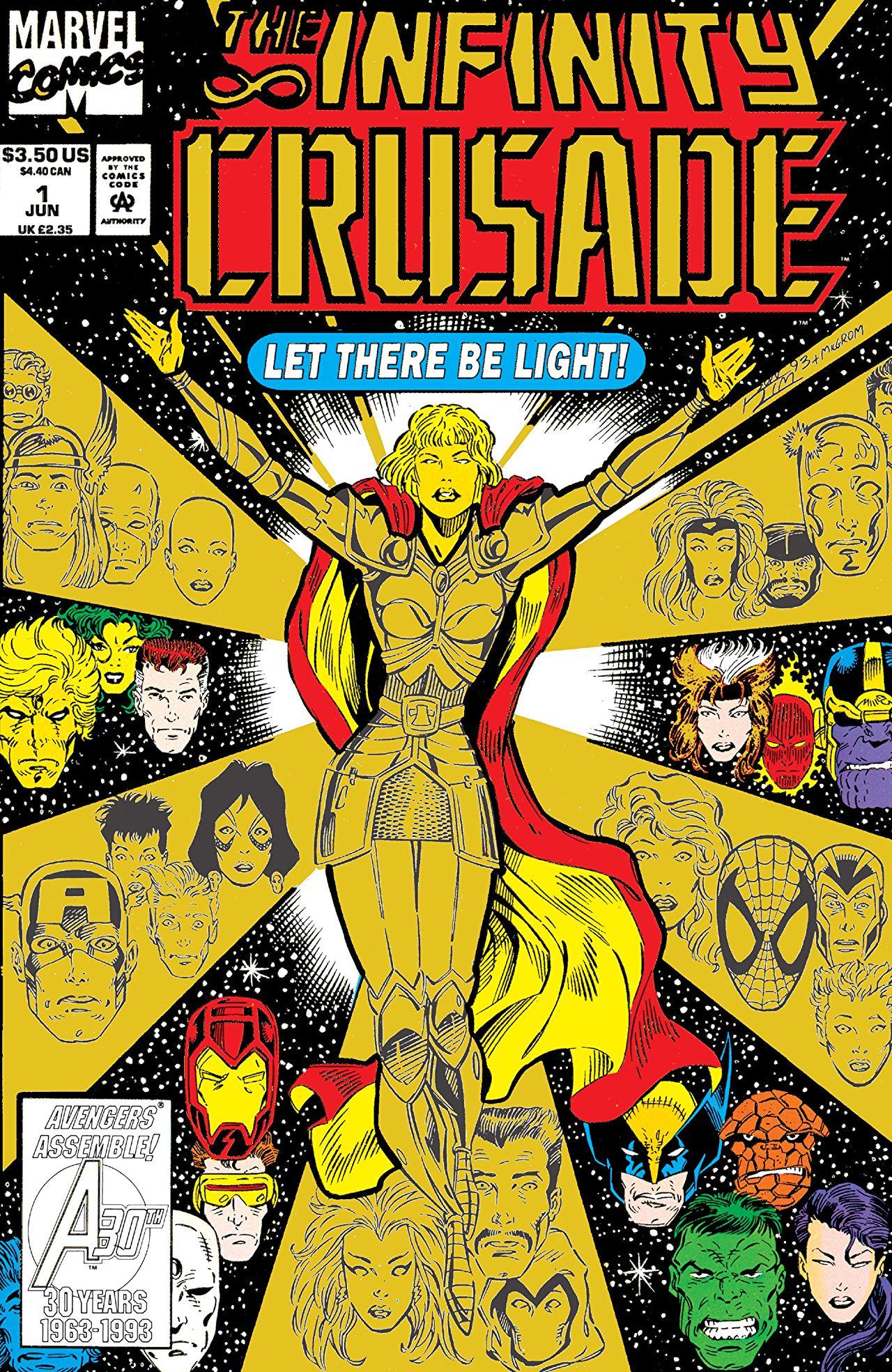 Infinity Crusade Vol 1 1
