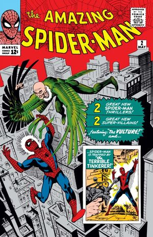 Amazing Spider-Man # 2, May, 1963