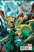 Avengers Arena Vol 1 16 Thor Battle Variant