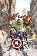 Avengers Assemble Vol 2 9 Rubio Variant Textless