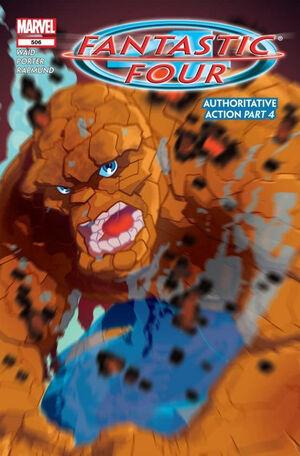 Fantastic Four Vol 1 506