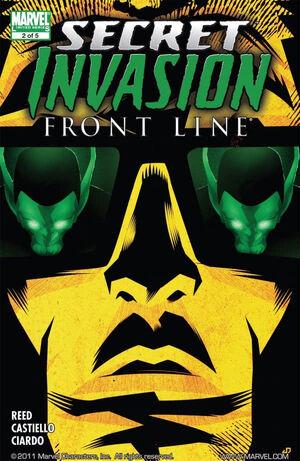 Secret Invasion Front Line Vol 1 2