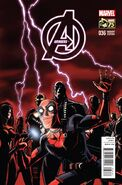Avengers Vol 5 36 Deadpool 75th Anniversary Variant