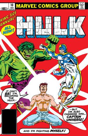 Incredible Hulk Annual Vol 1 10