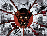 Ogun (Ninja) (Earth-616) tells his history to Sharp (Earth-616) from Death of Wolverine The Weapon X Program Vol 1 4