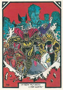 New Mutants (Earth-616) from Arthur Adams Trading Card Set 0001