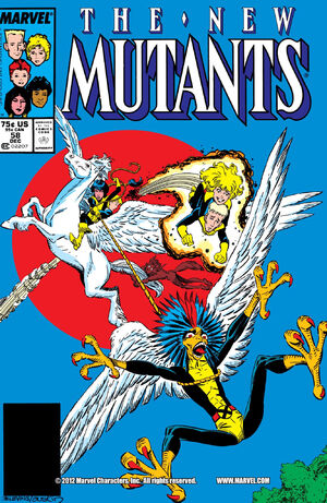 New Mutants Vol 1 58