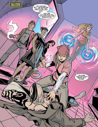 Runaways (Earth-616) Daken (Akihiro) (Earth-616) Daken Dark Wolverine Vol 1 17