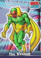 Vision (Earth-616) from Marvel Legends (Trading Cards) 0001
