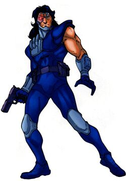 Eric Savin (Earth-616) from Official Handbook of the Marvel Universe A-Z Update Vol 1 1 001