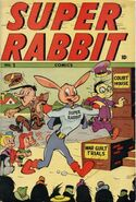 Super Rabbit Comics Vol 1 1
