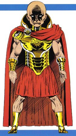 Aron (Earth-616) from Official Handbook of the Marvel Universe Master Edition Vol 1 28 001