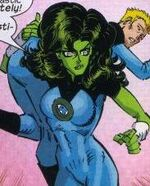 Jennifer Walters (Earth-200782) from Marvel Adventures Fantastic Four Vol 1 25