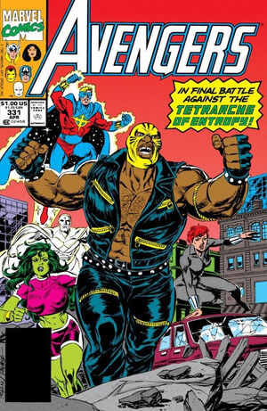 Avengers Vol 1 331
