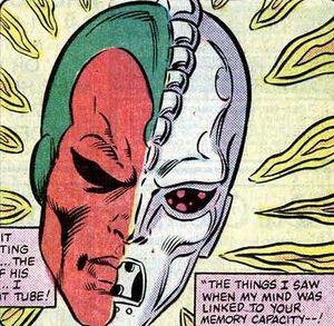 Vision's brein verbonden met ISAAC (Avengers -251).jpg