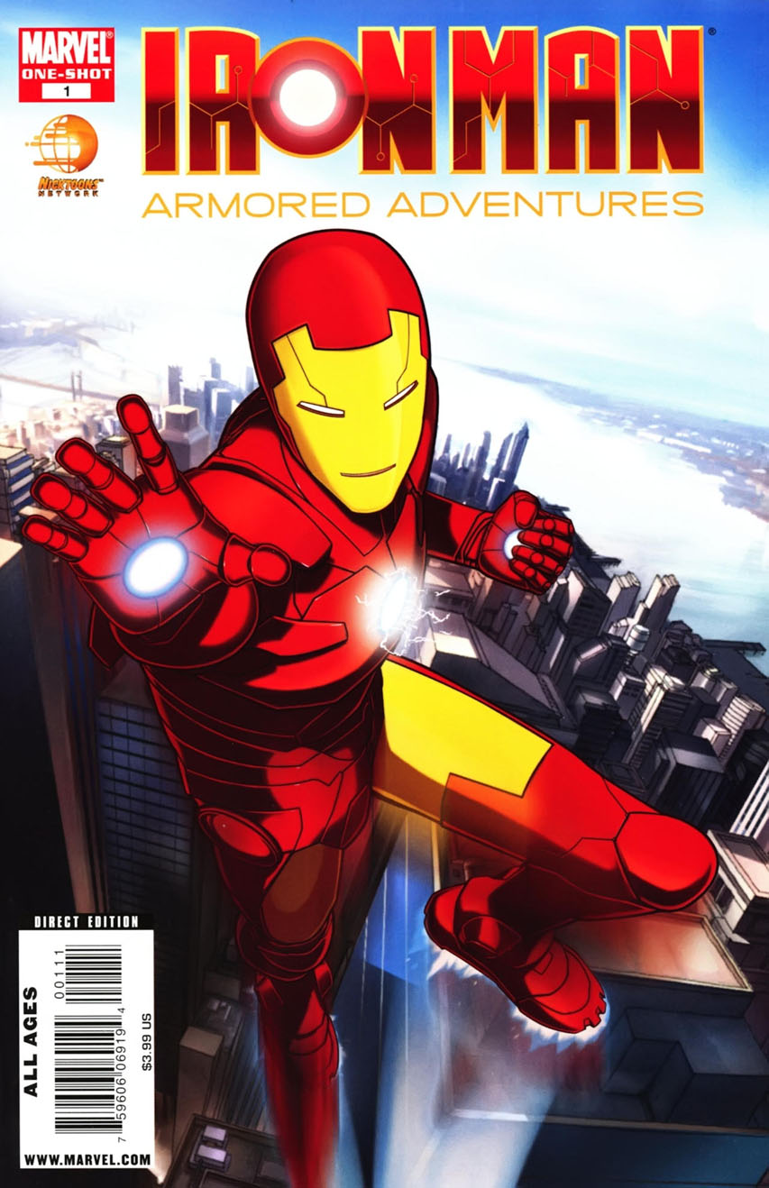 Iron Man: Armored Adventures Vol 1 1 | Marvel Database ...