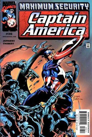 Captain America Vol 3 36