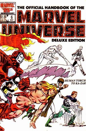 Official Handbook of the Marvel Universe Vol 2 6