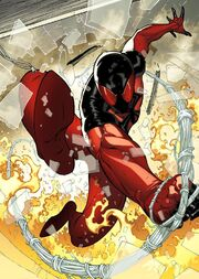 Peter Parker (Kaine) (Earth-616) as Scarlet Spider