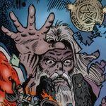 Merlin (Earth-9411) Spectacular Spider-Man (UK) Vol 1 114