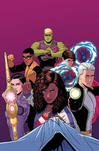 Young Avengers Vol 2 13 Textless