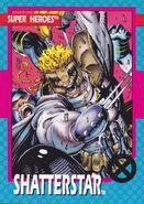 Gaveedra Seven (Mojoverse) from X-Men Trading Cards 1992 Set 0001