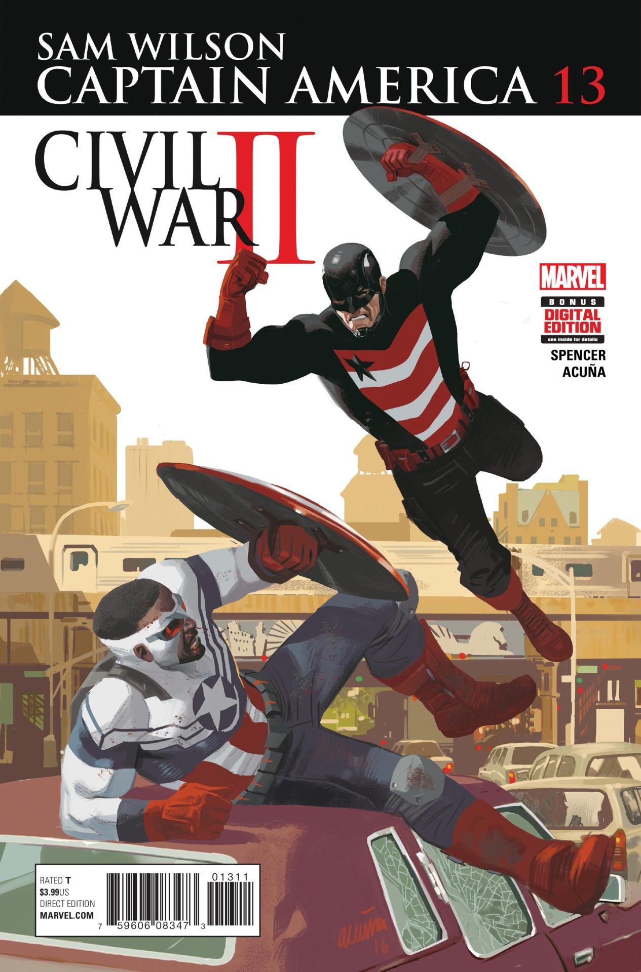 Iron Man Colors >> Captain America: Sam Wilson Vol 1 13 | Marvel Database