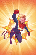 Captain Marvel Vol 9 3 McKelvie Variant Textless