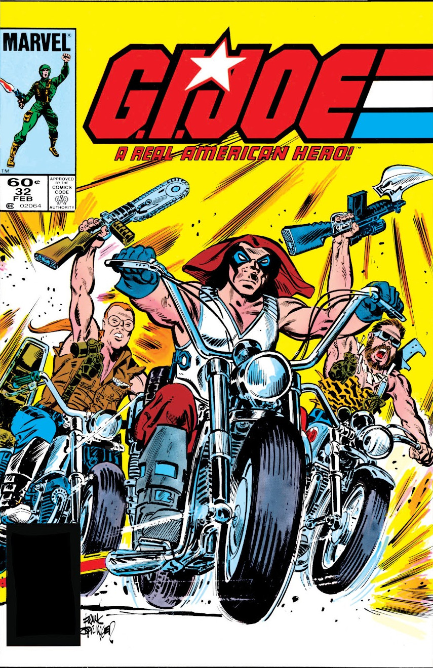 G.I. Joe A Real American Hero Vol 1 32