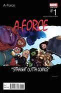 A-Force Vol 2 1 Hip-Hop Variant