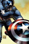 Captain America Vol 7 1 Quesada Variant Textless