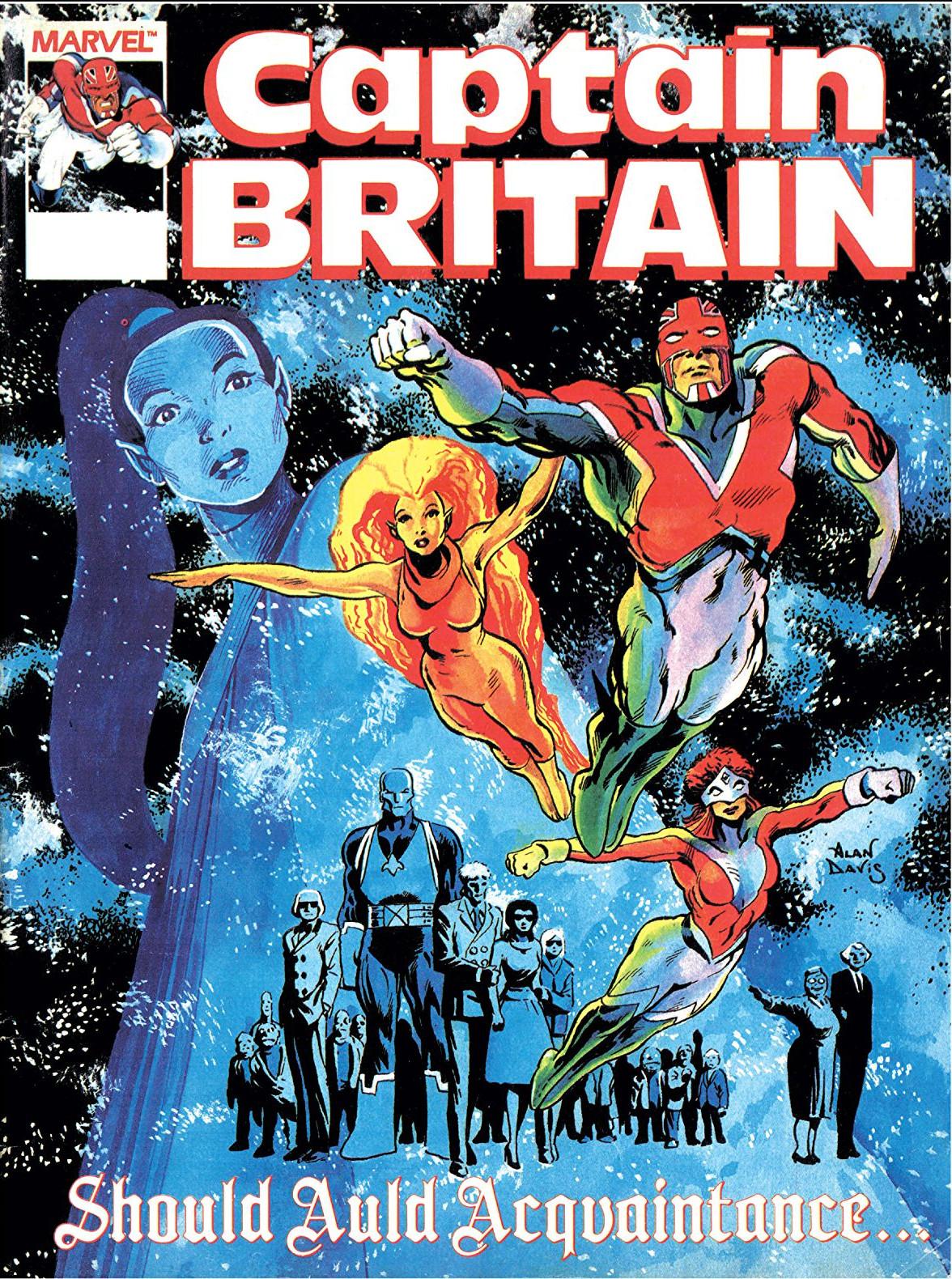 Captain Britain Vol 2 14 Marvel Database Fandom