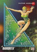 Namorita Prentiss (Earth-616) from Marvel Universe Cards Series III 0001
