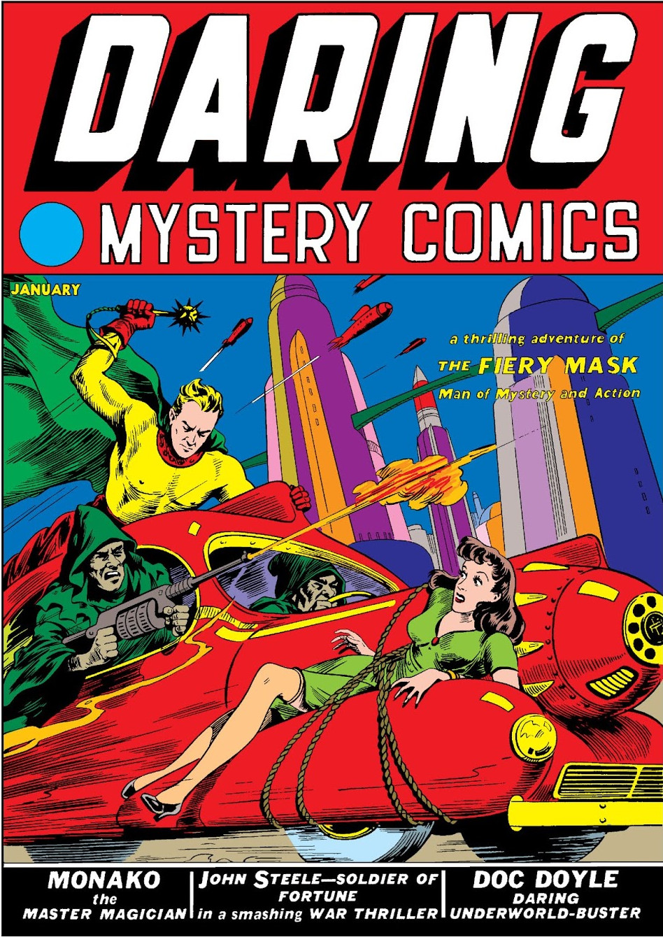 Image result for daring mystery comics #1
