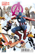 Avengers Vol 5 14 50 Years of Avengers Variant