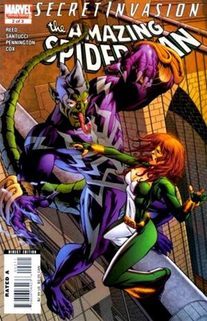 Secret Invasion The Amazing Spider-Man Vol 1 2
