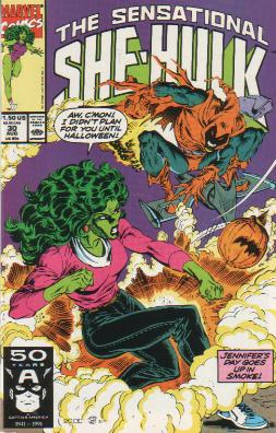 Sensational She-Hulk Vol 1 30
