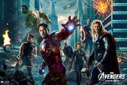 Marvel's The Avengers film poster 019