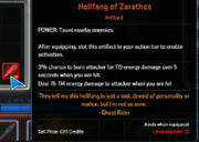 Marvel Heroes Artifact Hellfang of Zarathos Taunt & Tank 02