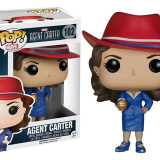 Agent Carter with Golden Orb