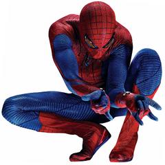 Spider-Man front view.