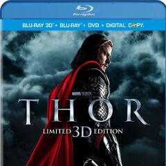 Thor (Three-Disc Combo: Blu-ray 3D / Blu-ray / DVD / Digital Copy)