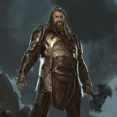 Concept art of Volstagg from <i>Thor: The Dark World</i>.
