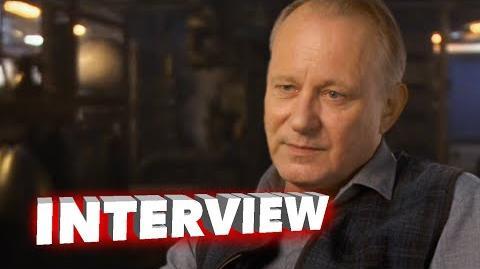 """Marvel's Avengers Age of Ultron Stellan Skarsgård """"Erik Selvig"""" Interview"""